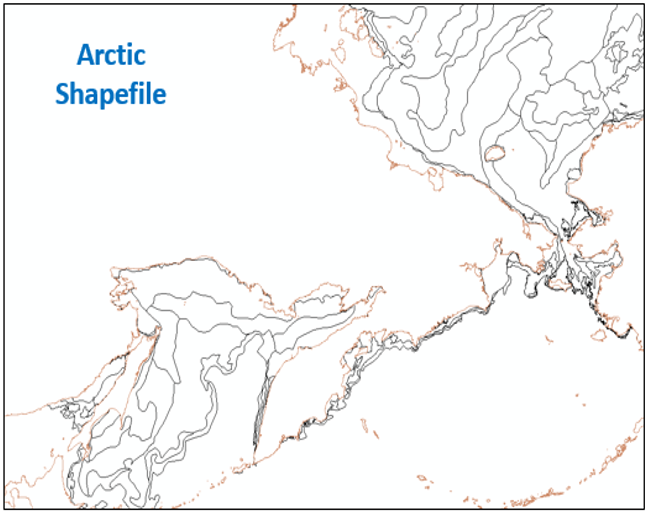 Example of weekly Arctic 