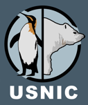 USNIC header logo, penguin and bear