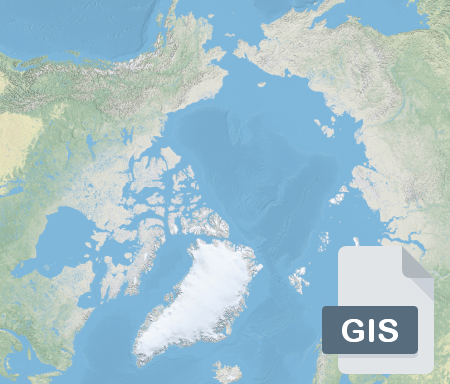 Thumbnail image of the Arctic denoting