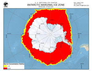 Thumbnail image of daily Antarctic marginal